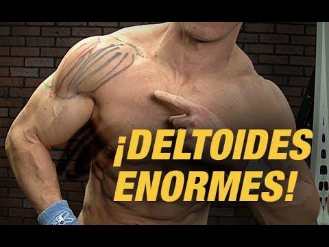Construye Hombros Enormes - ¡¡Entrena las 3 Cabezas Del Hombro!! (ANTERIOR, MEDIA, POSTERIOR) (видео)