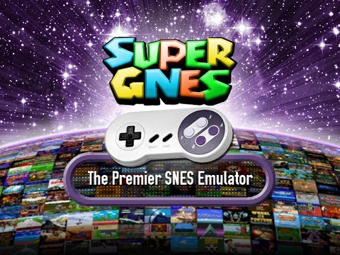 Video of SuperGNES (SNES Emulator)