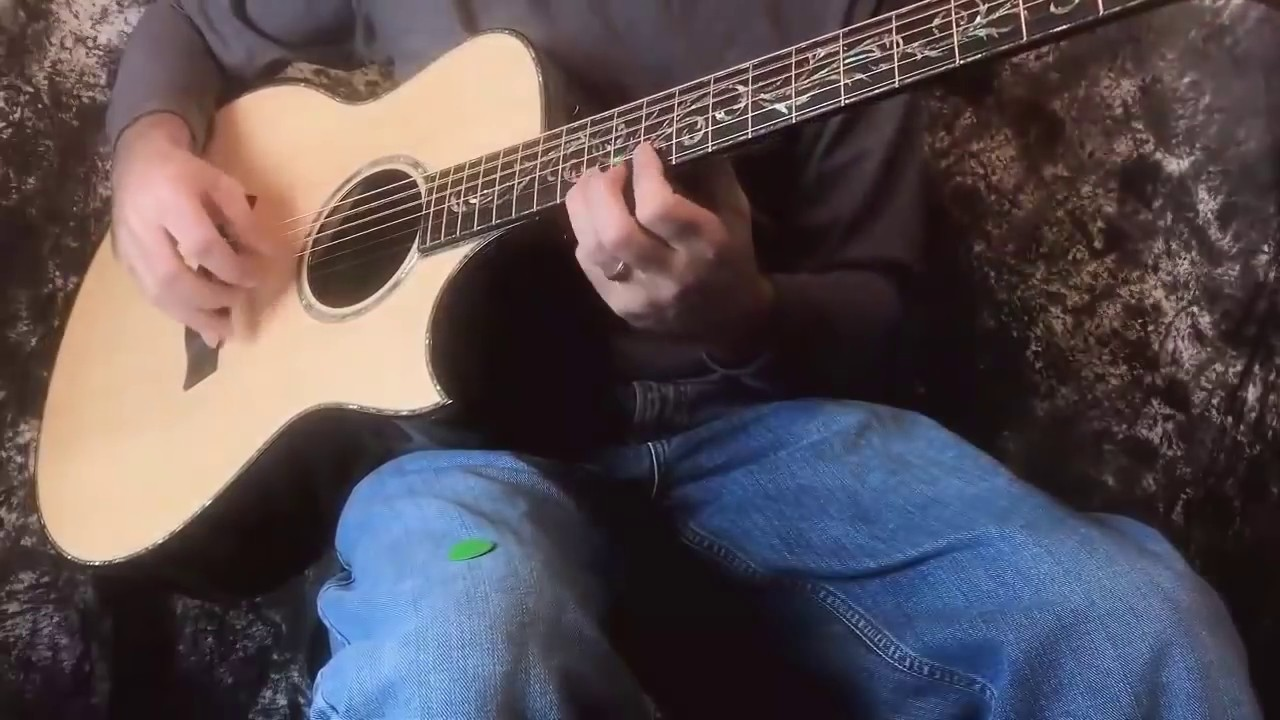 """Taylor PS16CE """"Prototype"""" Presentation Grand Symphony Acoustic-Electric Guitar Demo"""
