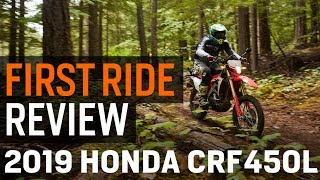 10. Honda CRF450L First Ride Review