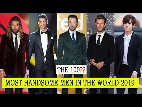 The 100 Most Handsome Men In The World 2019