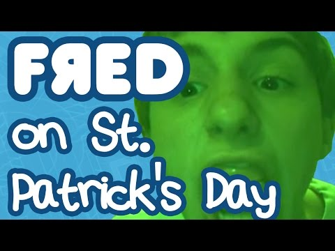 Fred on St. Patrick's Day