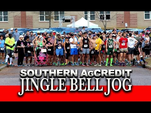 Video: Jingle Bell Jog benefits Children's Cancer Center