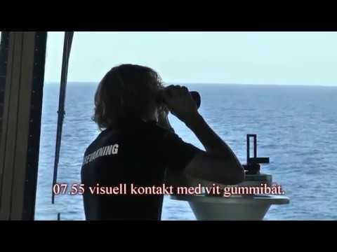 Visa film Sjöräddning operation Triton i Medelhavet 2015