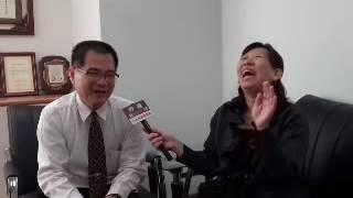 「國際盲人節」勞工局長王鑫基接受專訪