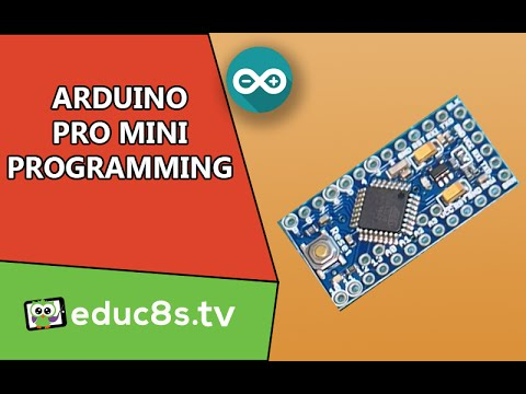 Arduino Tutorial: How to program the Arduino PRO mini