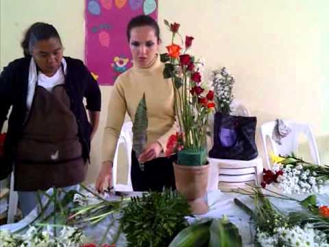 arreglo de flores -