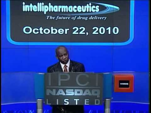 Dr. Isa and Dr. Amina Odidi, Intellipharmaceutics Inc. Opening Bell Ceremony at NASDAQ (Full)