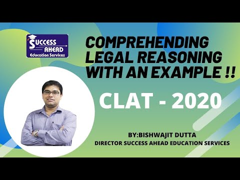 #trending #clat2020 Comprehending legal reasoning for CLAT - 2020