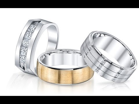 40 Best Mens Wedding Bands Platinum Ideas | Latest wedding rings for men