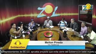 Melton Pineda comenta hombres armados asaltan camión de azúcar en Barahona