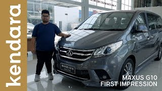 Download Video Maxus G10 Executive First Impression Indonesia | Kendara MP3 3GP MP4