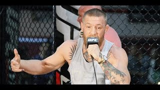 Conor McGregor Says F##@ You to Diaz and His Fans (UFC 202) by MMA Weekly