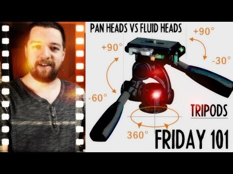 TRIPODS: Fluid-Head vs Pan-Head Comparison : FRIDAY 101