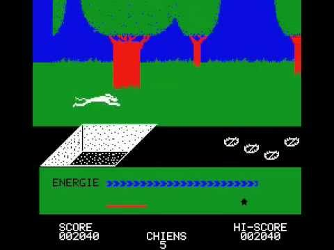 The game Doggy for Oric 1 / Atmos