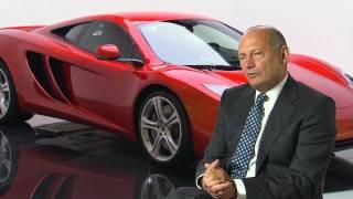 Ron Dennis, McLaren Automotive Chairman - McLaren MP4-12C