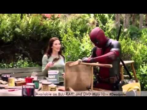 Deadpool: Blu-ray Facilitates Erection And Couple's Life In This Commercial Simply Hilarious
