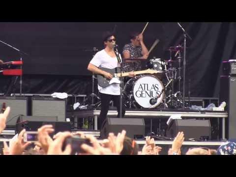 "Atlas Genius- ""Trojans"" *Project Almanac filming* (720p HD) Live at Lollapalooza on August 2, 2013"