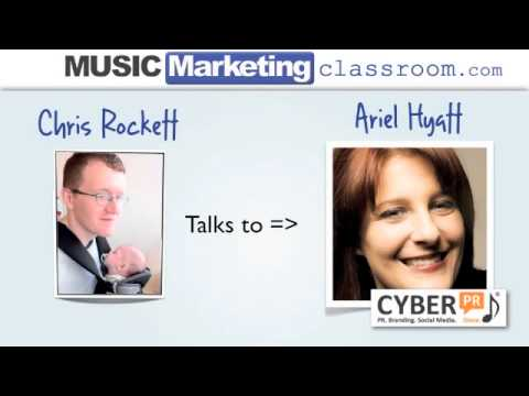 Interview with Ariel Hyatt of Cyber PR