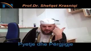 Pse te Muslimanët ka shum krime - Hoxhë Shefqet Krasniqi