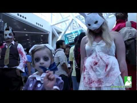 0 Best Cosplayers Of AX 2011