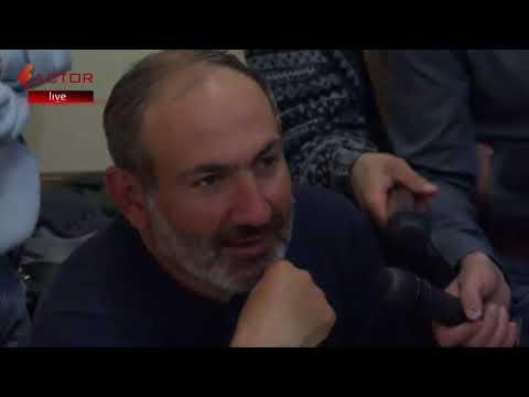 Նիկոլ Փաշինյանը բանակցում է Հանրային ռադիոյի ղեկավարության  հետ ՝ ուղիղ եթերի տրամադրման շուրջ - DomaVideo.Ru