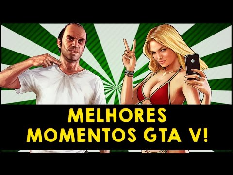 Gta - Melhores momentos das cenas mais engraçadas, especial GTA V! ☆ Canal do Editor: http://bit.ly/1zowjcW Veja a Playlist com todos os vídeos: http://bit.ly/1EnfUdu Herobrine:...