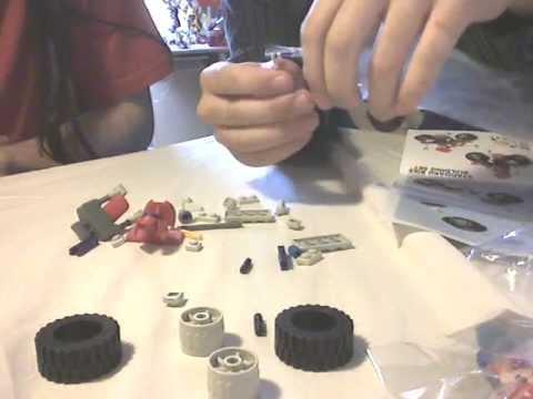 comment construire une voiture en k'nex