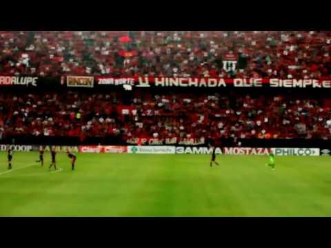 La hinchada sabalera en el gol de Olivera, vs Defensa, 2016. - Los de Siempre - Colón