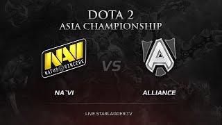 Na'Vi vs Alliance, game 1