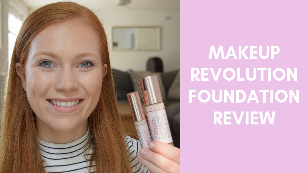 Makeup Revolution Conceal and Hydrate Foundation Review | Makeup For Redheads | Simply Redhead