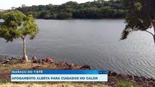 Calor intenso faz crescer número de mortes por afogamento no interior paulista