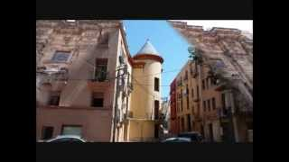 Tortosa Spain  City new picture : Day in Tortosa, Spain, River Ebro, Town & Public Market,