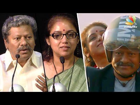 Raj Kiran Emotional Speech At Powerpandi Pressmeet   Kasthuri Raja   Dhanush