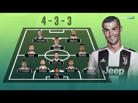 Cristiano Ronaldo Resmi Ke Juventus! Begini Potensial Line Up Juventus Musim 2018/2019