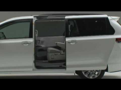 Officially new Toyota Sienna 2011 Exterior