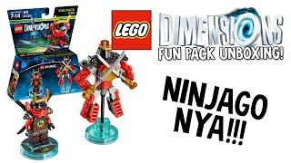 LEGO DIMENSIONS NINJAGO NYA FUN PACK UNBOXING!!! (LEGO Set No. 71216)