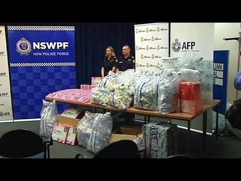 Αυστραλία: Μεγάλη ποσότητα ναρκωτικών μέσα σε προσθετικά τζελ στηθόδεσμων