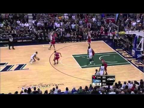 Jazz turnover - Jazz vs. Bulls