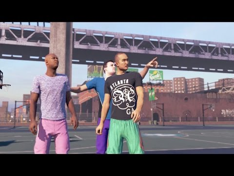 center - NBA 2K15 - NBA 2K15 My PARK. Wager Matches at The Stage Feature + 5v5 games at the Jordan Rec Center featuring the Old Town Flyers, the Sunset Beach Ballers and the Rivet City Rough Riders....