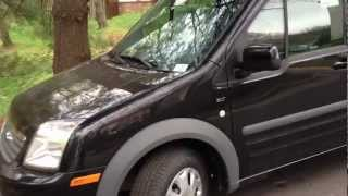 2012 Ford Transit Connect Wagon Review, Walk Around, Start Up&Rev, Test Drive