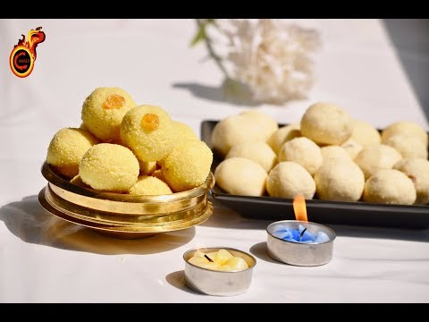 റവ ലഡൂ || Easy Rava Ladoo ||| Sooji Ladu||  Veena's Curryworld || Ep:427