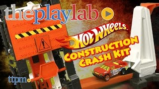 Hot Wheels Construction Crash Kit