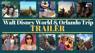 Brand New! Walt Disney World & Orlando Vacation Vlog | Trailer | Krispysmore