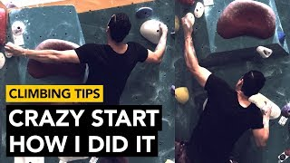 Rock Climbing Tips: REALLY Complex start explained in detail by  rockentry