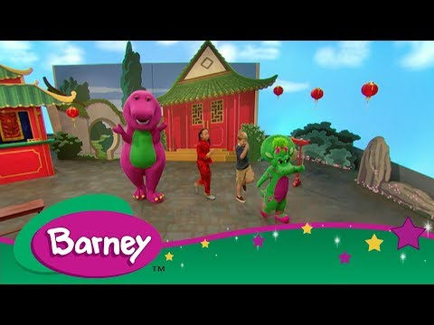 Barney - Let's Go on Vacation - Barney's Travel Book: China