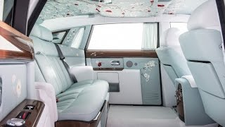 The marque's Bespoke Design team took inspiration from the opulent interiors of Rolls-Royces that have conveyed Kings and...