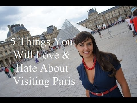 Paris - http://www.woltersworld.com Thinking of visiting Paris, France? Here are some travel tips about what you will love & hate about visiting the city of lights a...