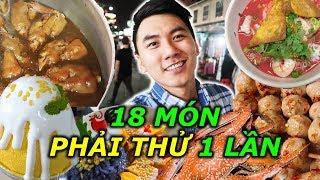 18 món ăn Thái Lan phải thử. Ẩm thực đường phố Thế Giới |THAILAND Street Food