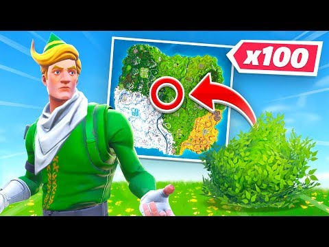 100 Player Fortnite Hide & Seek!